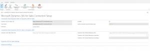 Updated integration with Dynamics 365 for Sales